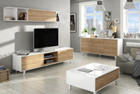 Muebles Salon Estilo nordico Q0d4 Mueble De Salà N Pleto Estilo Nà Rdico Mà Dulo Tv Con Estanterà A
