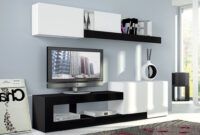 Muebles Salon Ftd8 Mueble Salà N Oferta Blanco Y Negro Nueva Coleccià N