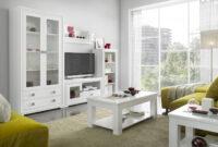 Muebles Salon Mndw Mueble De Salà N Blanco Lacado