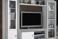 Muebles Salon S1du Mueble Salà N De Color Blanco Enmarcado En Plata