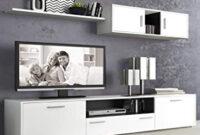 Muebles Salon Tldn Liquidatodo Muebles De Salon Modernos Color Blanco Grafito