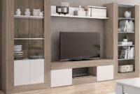Muebles Salon Zwd9 Mueble De Salà N En Color Sable Y Blanco De 310 Centimetros