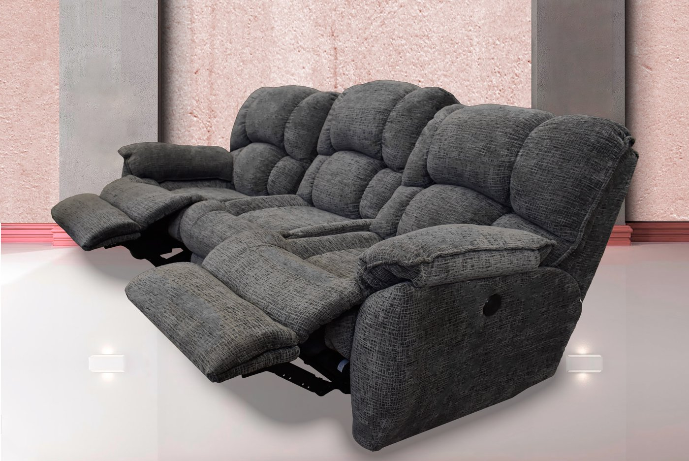 Muebles sofas O2d5 sofa 739 Reclinable Electrico Boardwalk Grey Muebles Troncoso