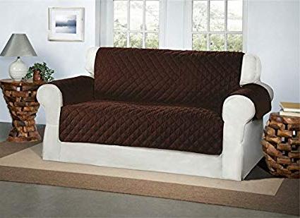 Muebles sofas S5d8 Cubre Chocolate Marrà N Para sofà S De 2 Plazas Protector Para