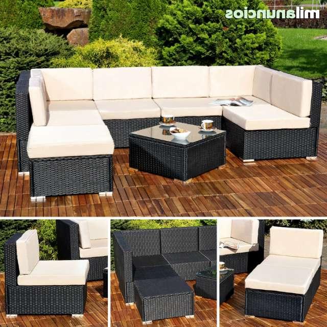 Muebles Terraza S1du Mil Anuncios Conjunto 4 Muebles Ratà N Negro Terraza