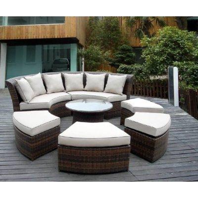 Muebles Terraza Tldn Muebles En Circulo Para Terraza Terrazas Y Jardines Fotos De Jardines