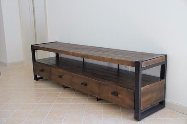 Muebles Tipo Industrial 0gdr Muebles Estilo Industrial Decoracion Industrial Vintage Para El