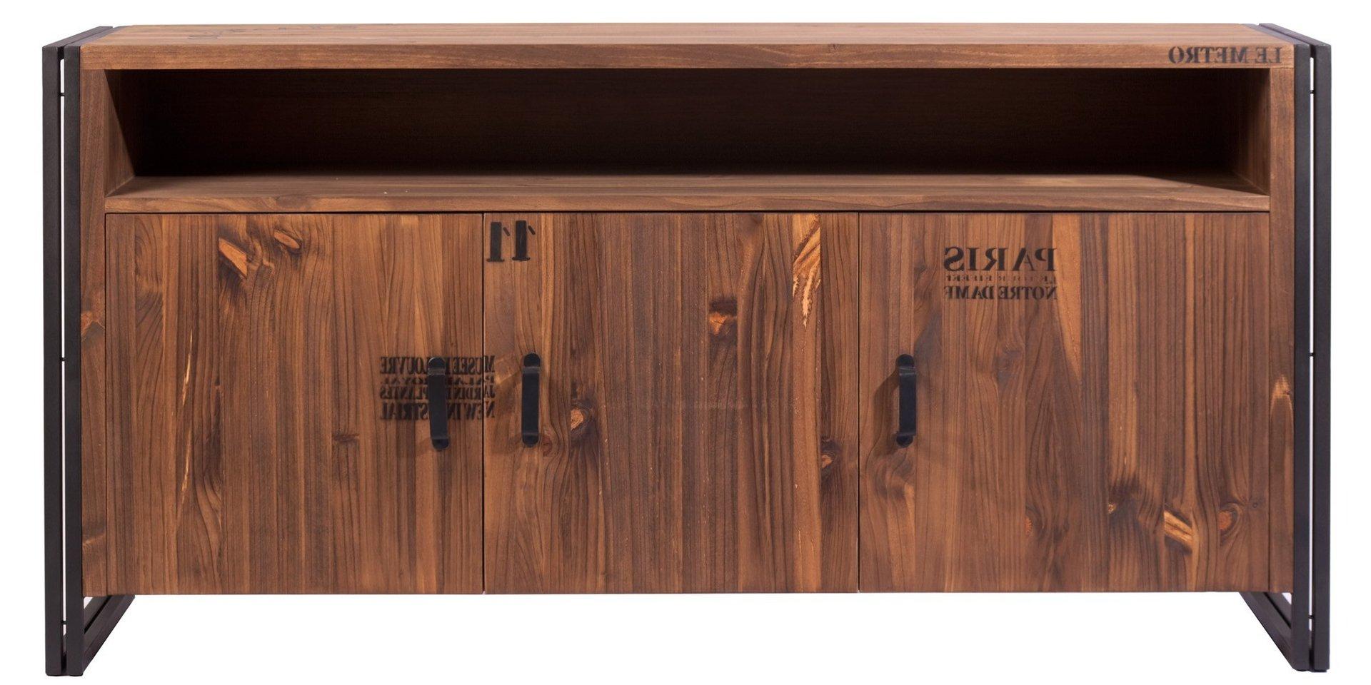 Muebles Tipo Industrial 87dx Mueble Aparador O De Recepcià N De Estilo Industrial Hantol Design