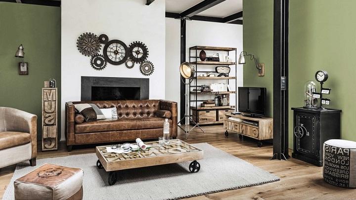 Muebles Tipo Industrial Budm Revista Muebles Mobiliario De Diseà O