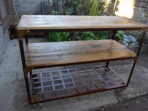 Muebles Tipo Industrial E6d5 Muebles Estilo Industrial De Hierro Y Madera 8 200 00 En Mercado
