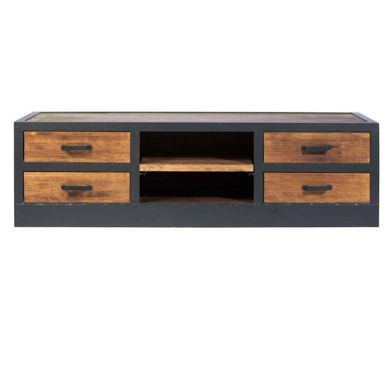 Muebles Tipo Industrial Ffdn Mueble Tv Loft Estilo Industrial Phill Hantol Design