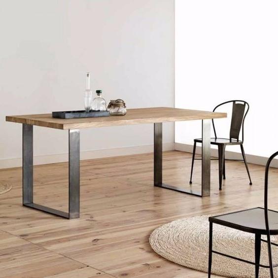 Muebles Tipo Industrial Thdr Mesa Estilo Industrial Hierro Y Madera Muebles Leblock 17 500 00