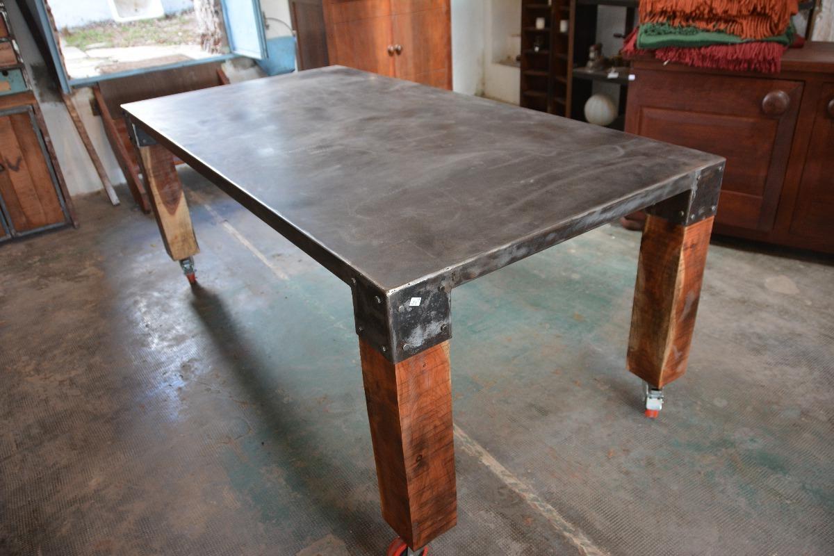Muebles Tipo Industrial Whdr Mueble Tipo Industrial Metal Y Madera 5 000 00 En Mercado Libre