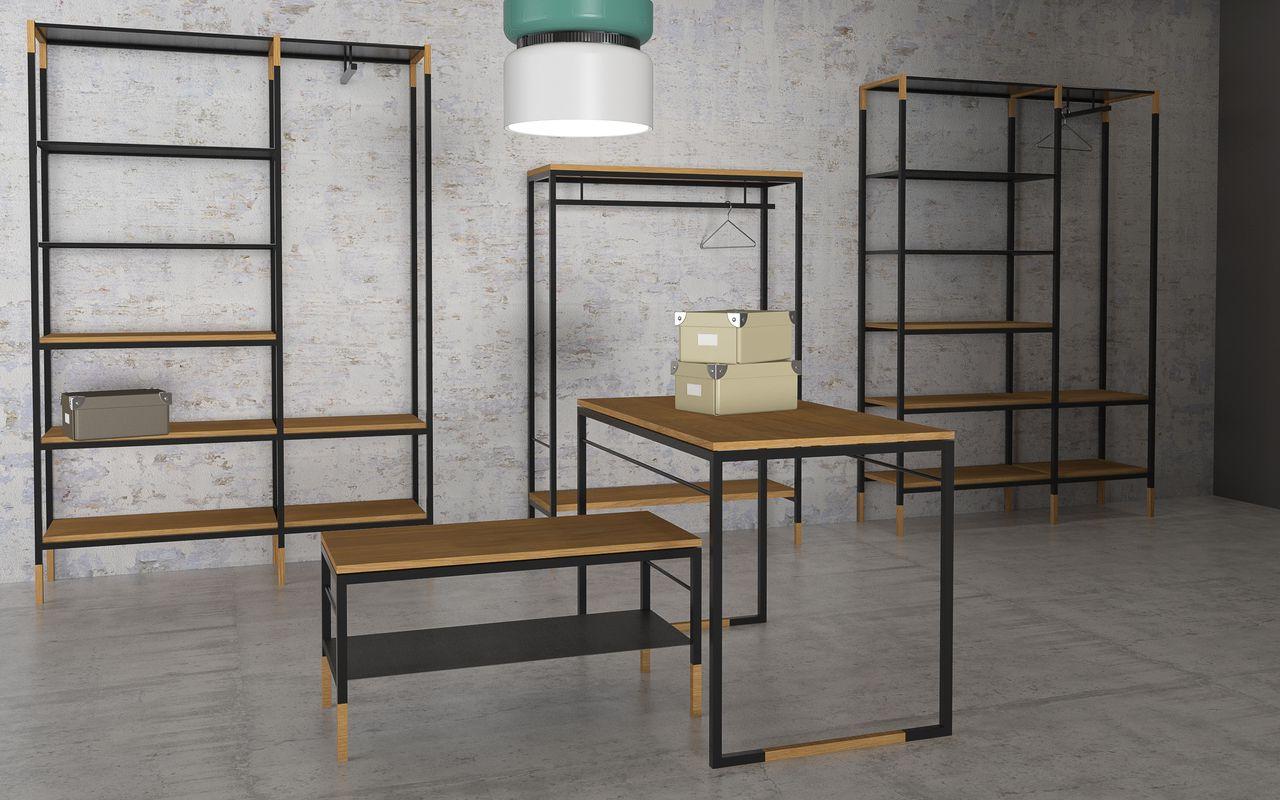 Muebles Tipo Industrial Zwd9 Muebles Industrial Y Vintage Espacios De Galicia