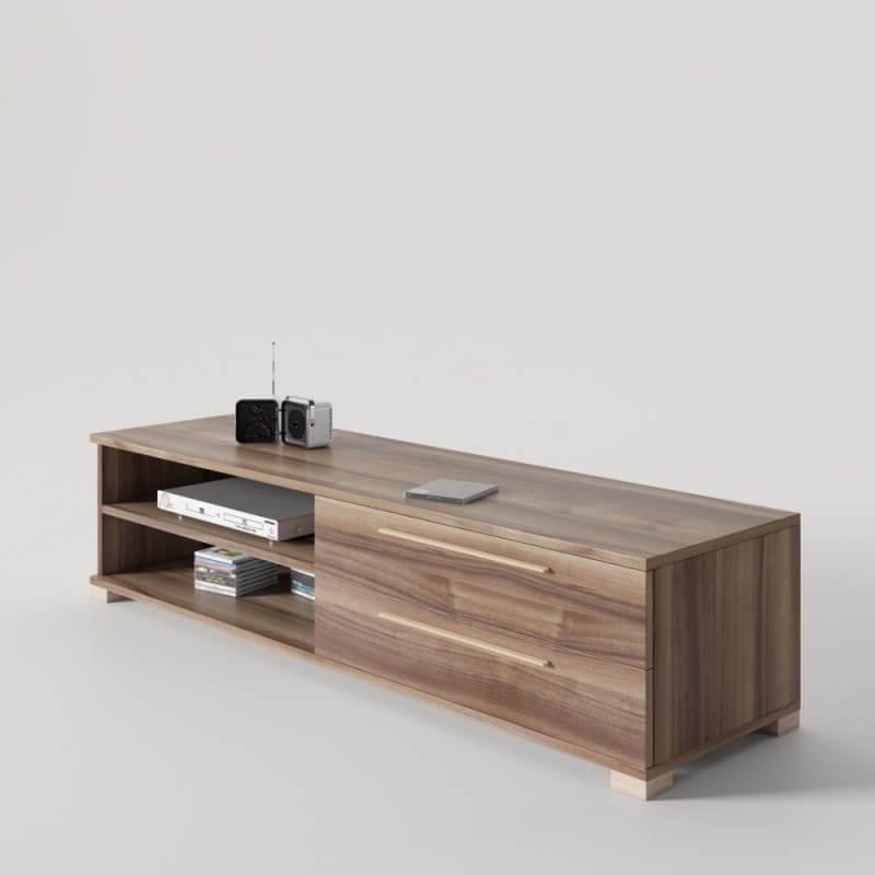 Muebles Tv Diseño 3id6 Diseà O Mueble Tv Con 2 Cajones Ideal Para Televisores Con Base O