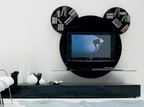 Muebles Tv Diseño Dddy Decora Y Disena Mueble Para Tv Moderno Diseà O Mickey Mouse