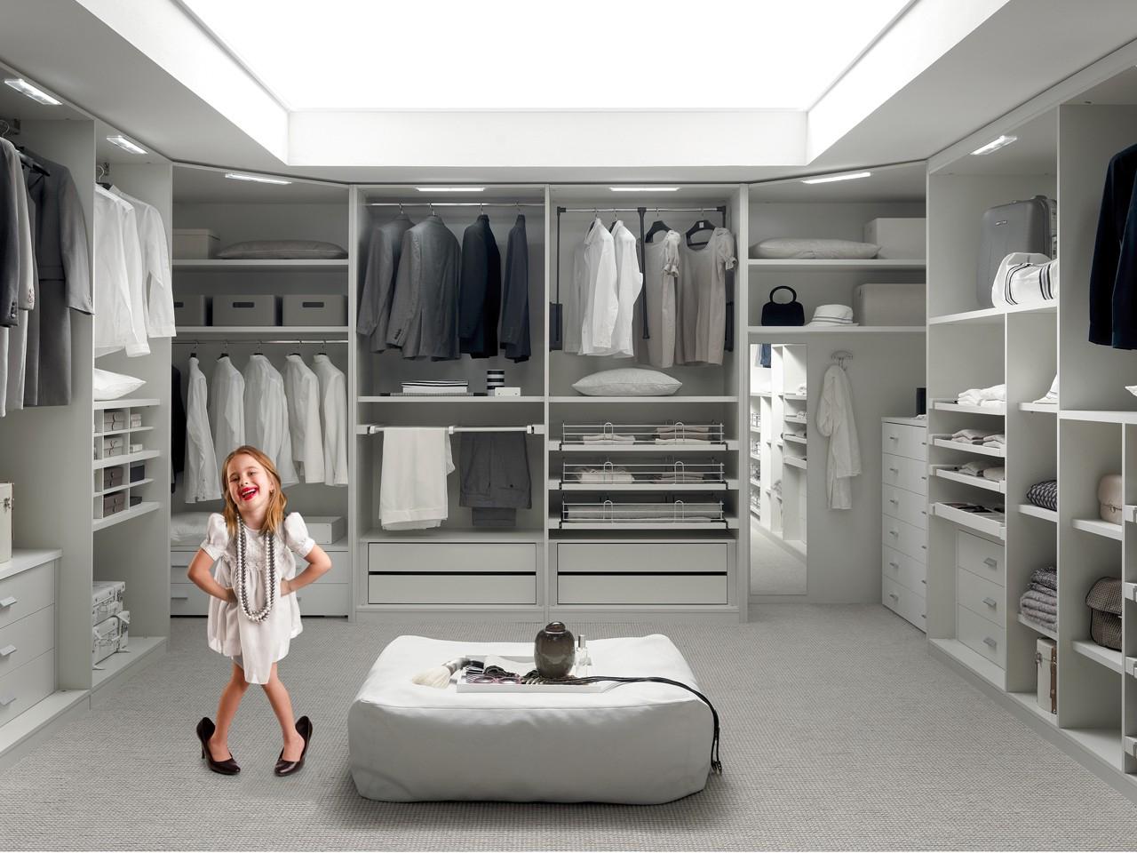 Muebles Vestidor Q5df Vestidores Modernos A Medida Gris Perla