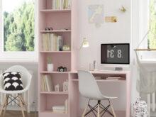 Mueblesbaratos Com Es Zwdg Mesa Y Estanteria Rosa Pastel