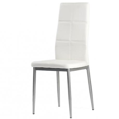 Mueblesbaratos.com.es Ipdd Silla Sara Blancas Color Blanco