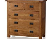 Oak Furniture Etdg Rustic Chest Of Drawers In solid Oak Oak Furnitureland