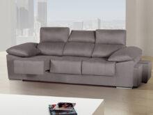 Oferta sofa H9d9 sofà Grande De 3 Plazas Xl Con Brazos Inclinados Y Puffs Lateral