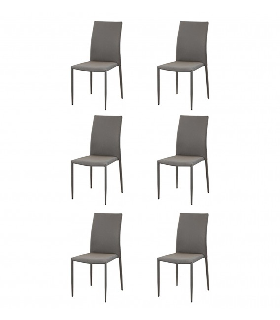 Ofertas De Sillas De Comedor Ipdd Pack 6 Sillas De Edor Bà Sicas Colores Disponibles Marrà N