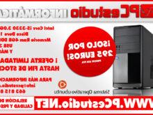 Ofertas ordenadores sobremesa J7do Oferta ordenador De sobremesa Intel I5 De Cuatro Núcleos