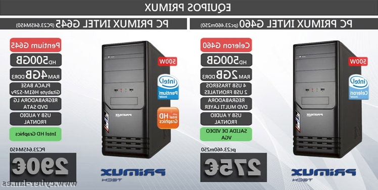 Ofertas ordenadores sobremesa Kvdd ordenadores De sobremesa Primux En Oferta Cyberlan