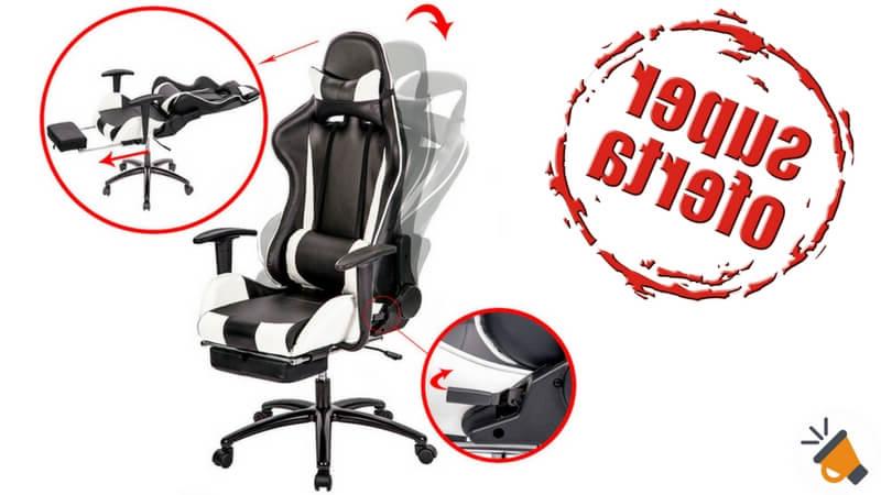 Ofertas Sillas Gaming Drdp Mitad De Precio Silla De Escritorio Con Reposapià S Por solo 89 95