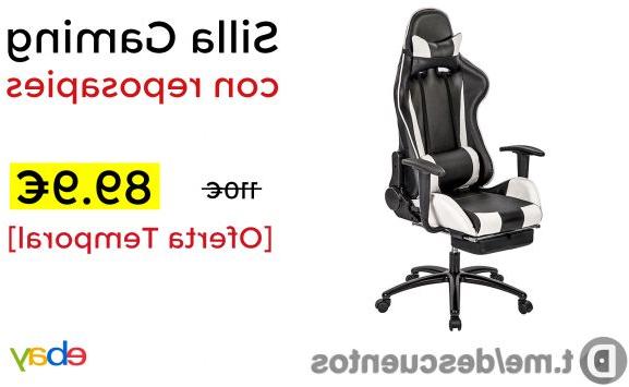 Ofertas Sillas Gaming Rldj Silla Gaming Con Reposapies solo 89 9 Chollometro