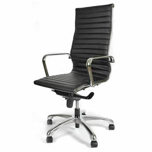 Office Chairs 0gdr Segmented Leather Executive Swivel Office Chair