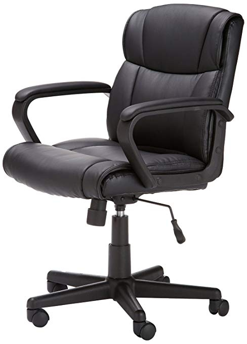 Office Chairs Ipdd Basics Mid Back Office Chair Black