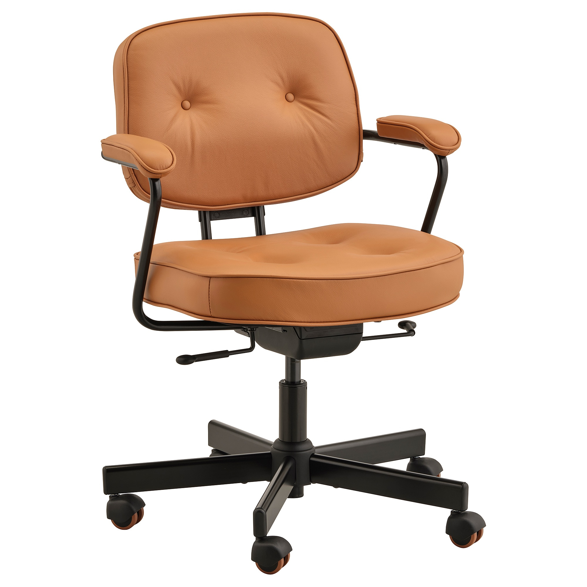 Office Chairs J7do Office Chair Alefjà Ll Grann Golden Brown