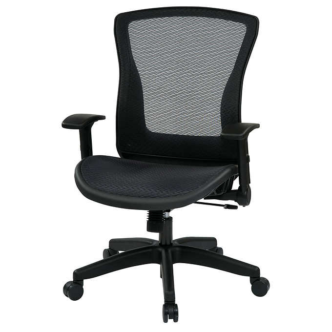 Office Chairs Jxdu Axia Space Office Chair with Breathable Airgrid Back Seat