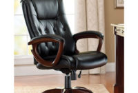 Office Chairs Jxdu Better Homes and Gardens Bonded Leather Executive Office Chair