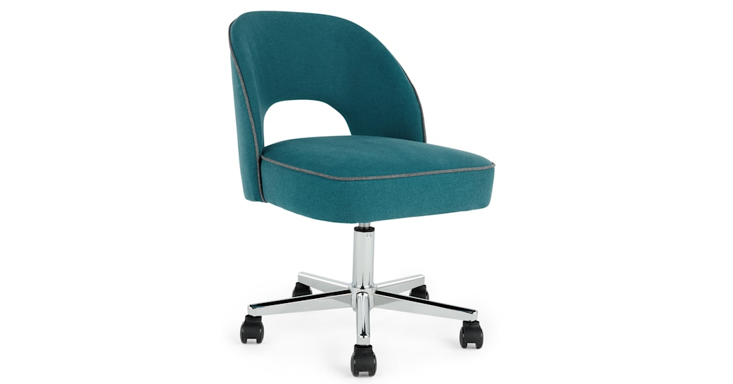 Office Chairs Qwdq Lloyd Office Chair Mineral Blue and Marl Grey