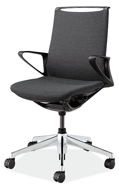 Office Chairs Thdr Plimode Office Chair In Black