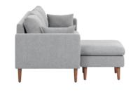 Ok sofas Opiniones Etdg Alicia L Shaped sofa Light Grey