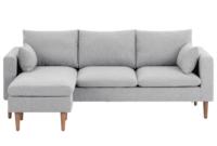 Ok sofas Opiniones Nkde Alicia L Shaped sofa Light Grey