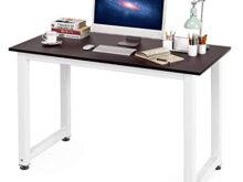 Ordenador Mesa 0gdr Homfa Mesa De ordenador Escritorio De Oficina Mesa De Estudio Mesa