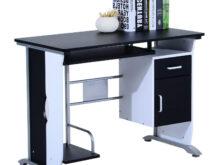 Ordenador Mesa 0gdr Mesa De ordenador Siam En Madera Color Negro Mesa Para ordenador