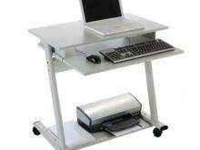 Ordenador Mesa Ffdn Mesa Para ordenador Con Ruedas 80x50x79 Cm Rd9100 Deskidea