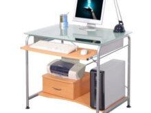 Ordenador Mesa Jxdu Mesa ordenador Pact Pro Ahorro De Espacio Para Tu Pc En Madera