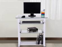 Ordenador Mesa Txdf Mesa De ordenador Pc Oficina Despacho Escritorio Con Estantes De