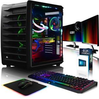 Ordenador sobre Mesa 3ldq Gaming Pc Vibox I7 7800x Gtx 1070 32gb Ddr4 480gb Ssd 2tb Hdd