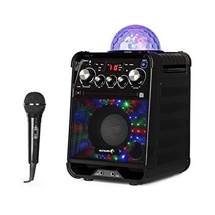 Ordenador sobremesa Pequeño Ipdd Auna Rockstar Karaoke Equipo De sonido Pequeà O Equipo De