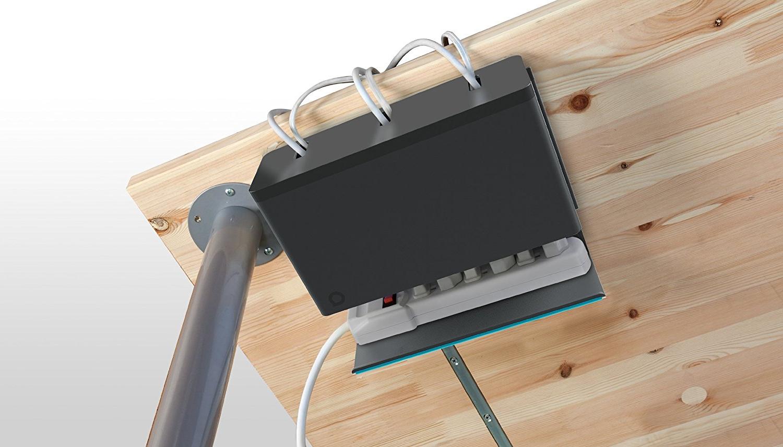 Organizador Cables Escritorio S5d8 Quirky organizador De Cables Para Debajo Del Escritorio