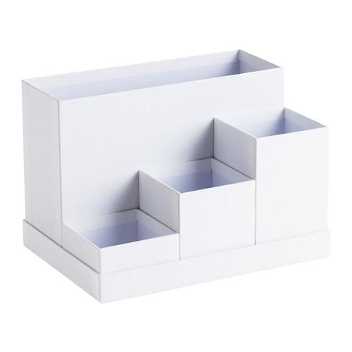 Organizador De Escritorio Ikea Txdf Tjena organizador Escritorio Blanco 18 X 17 Cm Ikea