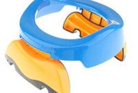 Orinal Portatil Whdr Foopp Plegable Portà Til De Potette orinal formacià N Para Bebà Viajes Potty asiento Azul