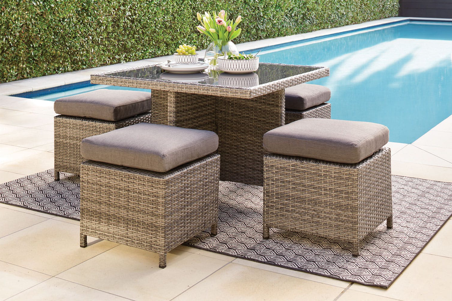 Outdoor Furniture Ipdd Conrose Outdoor Furniture Package Harvey norman New Zealand